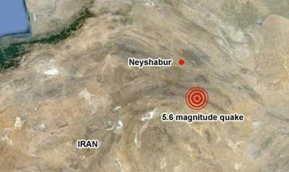 แผ่นดินไหวที่อิหร่าน 5.6ริคเตอร์ บาดเจ็บนับร้อย