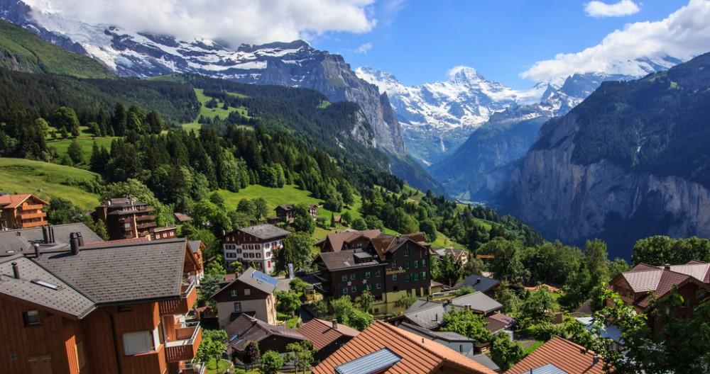 หมู่บ้าน Wengen สวิตเซอร์แลนด์ หนึ่งในหมู่บ้านที่สวยที่สุดในโลก